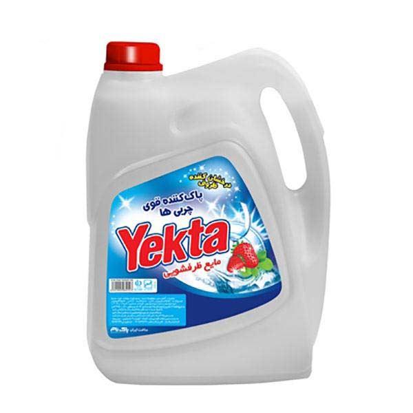مایع ظرفشویی پلاس 3750 گرمی توت فرنگی یکتا