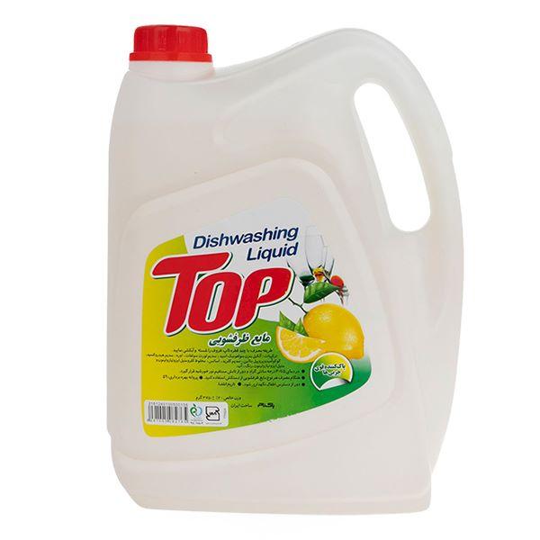 مایع ظرفشویی لیمویی 3750 گرم تاپ