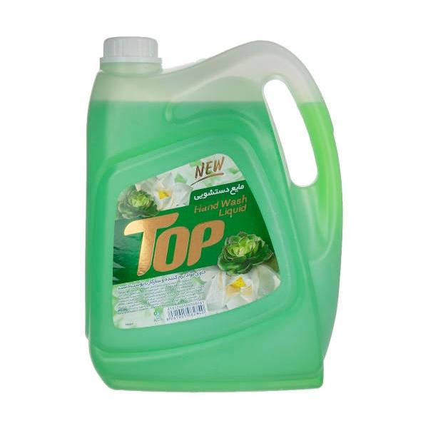 مایع دستشویی 3750 گرم سبز تاپ