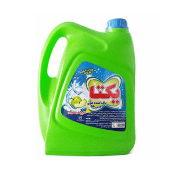 مایع دستشویی 4لیتری سبز یکتا