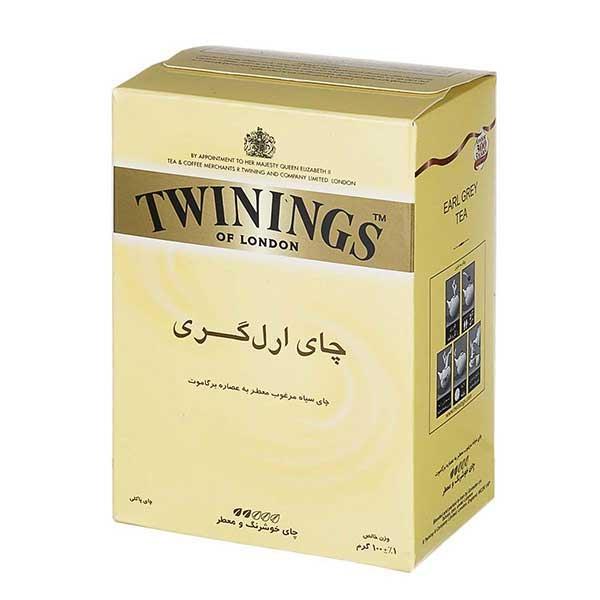 چای ارل گری 100 گرمی توینینگز
