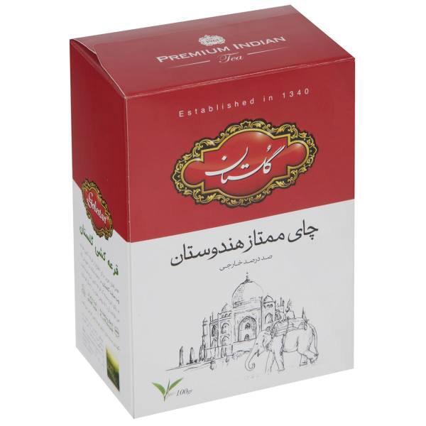چای گلستان 100گ قرمز