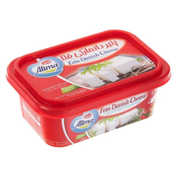 پنیر دانمارکی 320 گرم آلیما