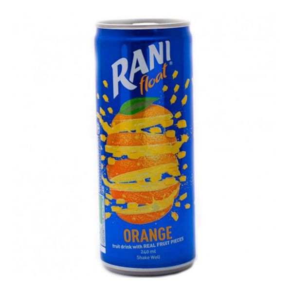 نوشیدنی قوطی پرتقال دبل رانی