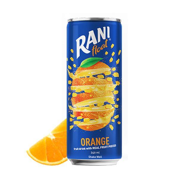 نوشیدنی قوطی پرتقال 240 میل رانی
