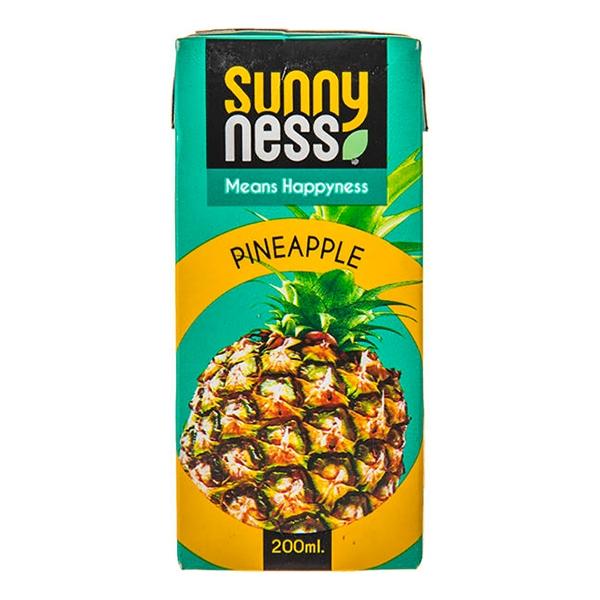 نوشیدنی آناناس 200cc سانی نس