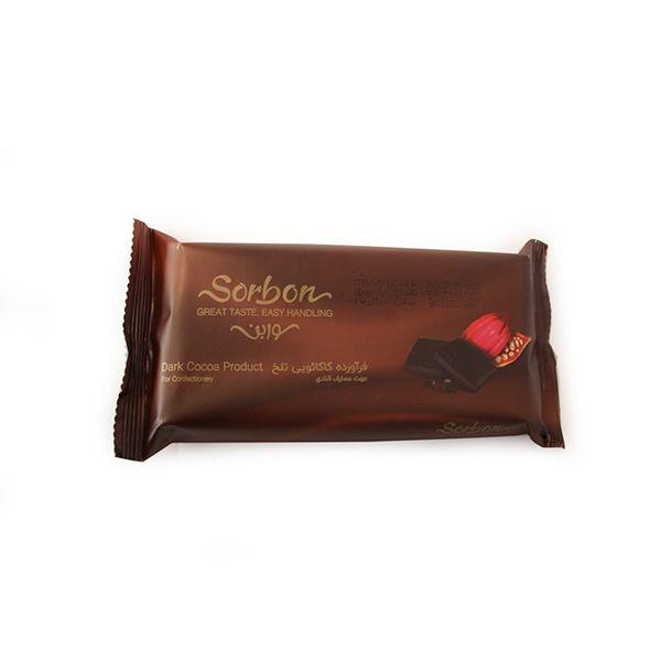 شکلات تخته ای تلخ 250 گرمی سوربن