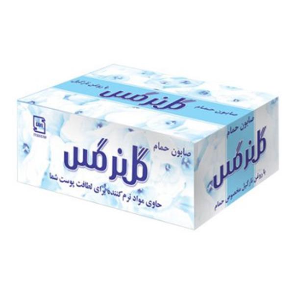 صابون حمام 130گ جعبه ای گل نرگس6*12
