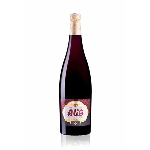 آبمیوه شامپاین انگور سفید750سی سی شیشه عالیس