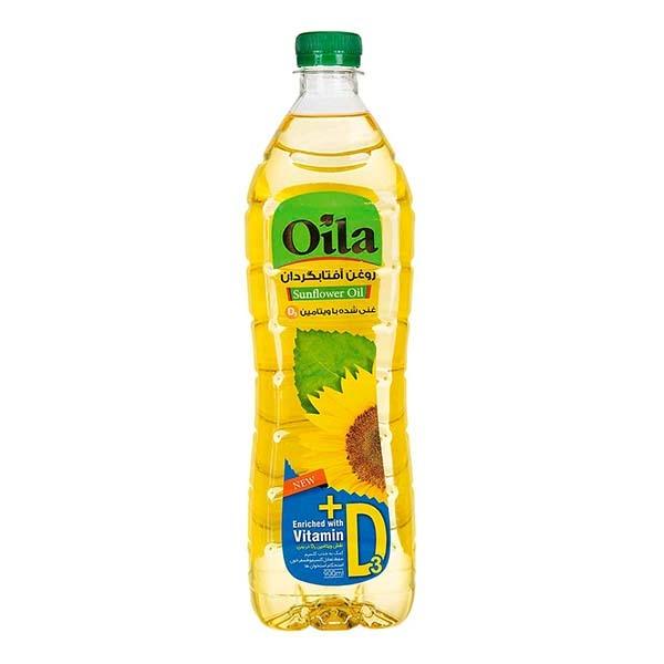 روغن آفتابگردان 810گ غنی شده با ویتامین D اویلا