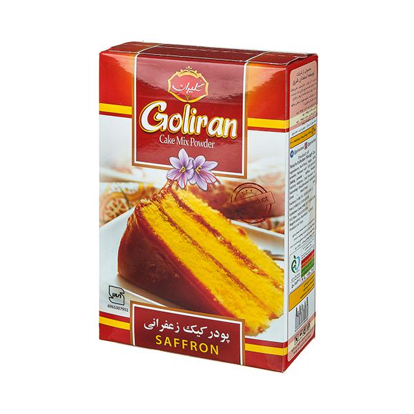 پودر کیک زعفرانی 500 گرم گلیران