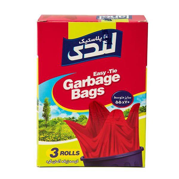 کیسه زباله آسان گره متوسط 42 عددی اکتیو