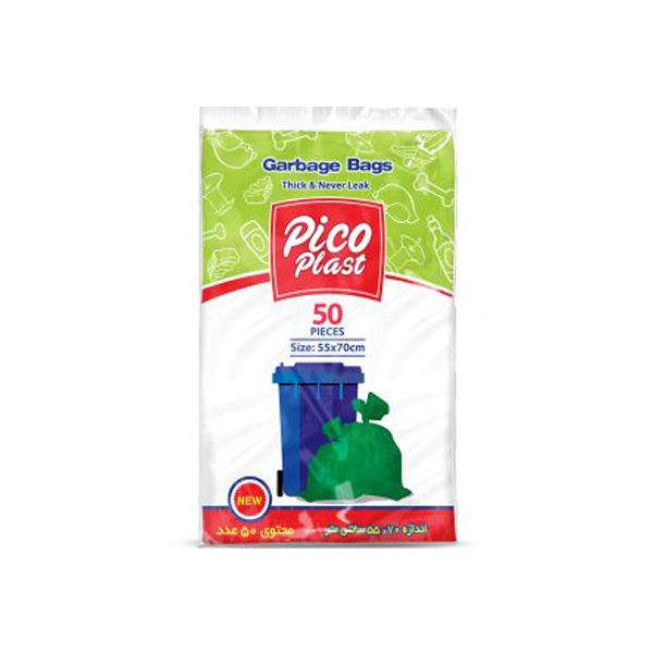 کیسه زباله شیت 50 عددی پیکو پلاست