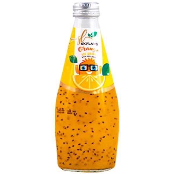 اسکایلند تخم شربتی پرتقالی شیشه