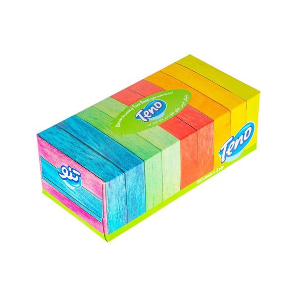 دستمال کاغذی جعبه ای تنو 150 تایی