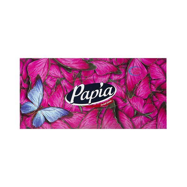 دستمال کاغذی 150*2 برگی گل و پروانه جدید پاپیا