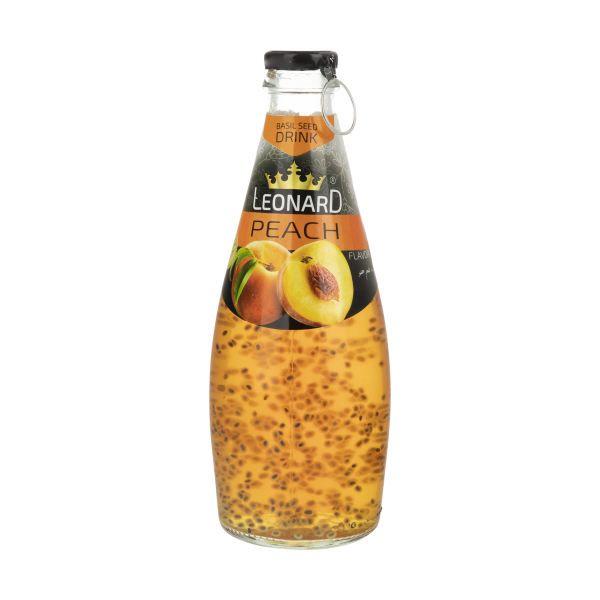 نوشیدنی تخم شربتی 300 میل هلو لئونارد