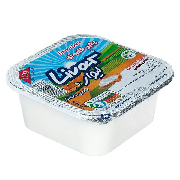 پنیر خامه ای لیوان100 گرم لیوار
