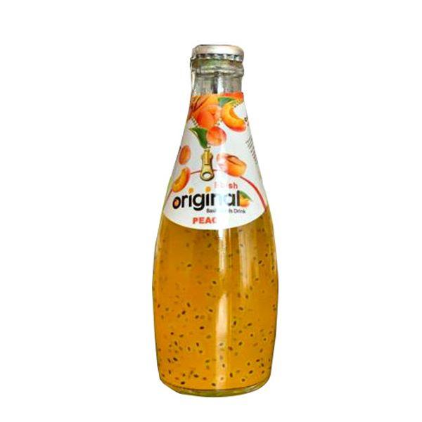 نوشیدنی تخم شربتی هلو اورجینال Ebish