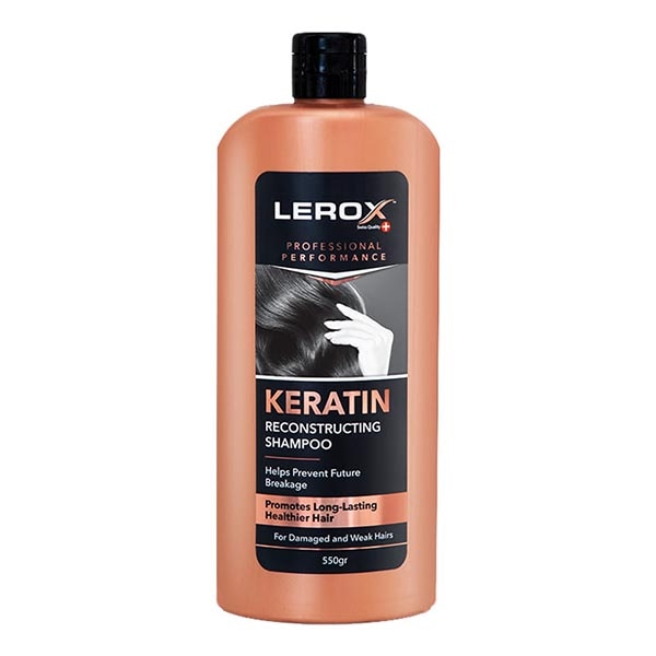 شامپو موهای شکننده کراتینه لروکس